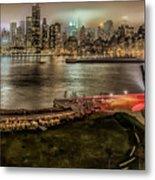 Shrouded City 5255 Metal Print
