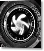 Shutters Vortex Metal Print