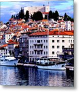 Sibenik Waterfront Metal Print