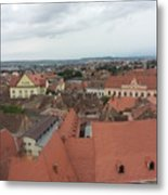 Sibiu 3 Metal Print