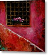 Sicilian Window Metal Print