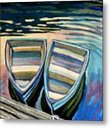 Side By Side Metal Print