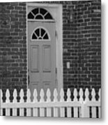 Side Door Metal Print