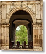 Side Entrance Of Copala Church Metal Print