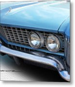 Side-lighting Buick Metal Print