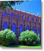Side Of A Large Church Metal Print