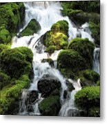 Side Of Clearwater Falls Metal Print