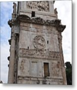 Side View Of The Arch Of Constantine Metal Print