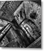 Sideways Hall Metal Print