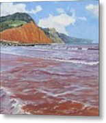 Sidmouth Metal Print