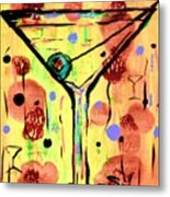 Sidzart Pop Art Martini This Is Sooo Mine Metal Print