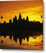 Siem Reap, Angkor Wat Metal Print