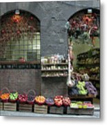 Siena Italy Fruit Shop Metal Print