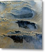 Sienna And Whales From Above Metal Print