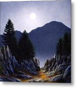 Sierra Moonrise Metal Print