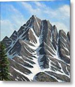 Sierra Peaks Metal Print