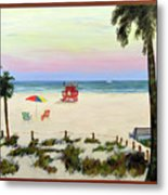 Siesta Key Beach Morning Metal Print