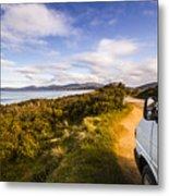 Sightseeing Southern Tasmania Metal Print