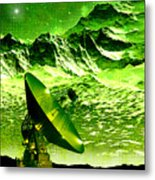 Signal From Space Metal Print