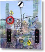 Signs Of The Times Metal Print