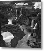 Sigoldufoss Waterfalls Iceland 1294 Metal Print