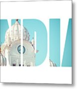 Sikh Gurdwara Golden Temple Metal Print