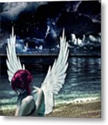 Silence Of An Angel Metal Print by Mo T