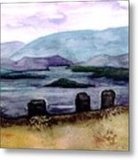 Silent Sentinels Metal Print by Patricia Griffin Brett