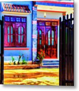 Silk Factory Owners Home Metal Print