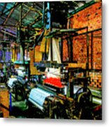 Silk Looms Metal Print