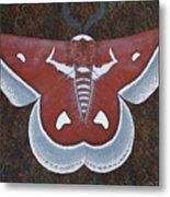 Silk Moth Metal Print