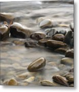 Silk River Metal Print
