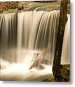 Silken Waterfall Metal Print