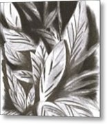 Silky Metal Print