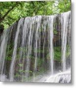 Silky Waterfalls Metal Print