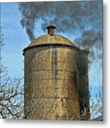 Silo Fire Venting Metal Print