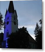 Silute Lutheran Evangelic Church Lithuania 01 Metal Print