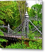 Silver Bridge 004 Metal Print