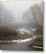 Silver Creek In Elberton Metal Print