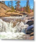 Silver Creek Rapid Metal Print