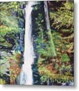Silver Thread Falls Metal Print