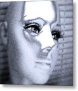 Silver Queen Metal Print