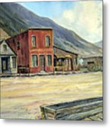 Silverton Colorado Metal Print by Evelyne Boynton Grierson