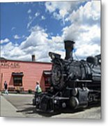 Silverton Durango Steam Train - Silverton Colorado Metal Print