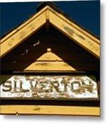 Silverton Train Station Metal Print