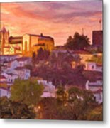 Silves, The Algarve Metal Print