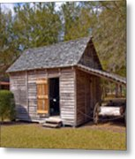 Simmons Cabin Built In 1873 In Orange County Florida Metal Print