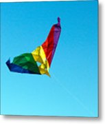 Simple Kite Metal Print