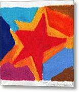 Simple Star Metal Print