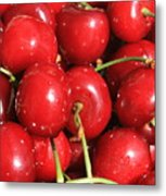 Simply Cherries  Metal Print